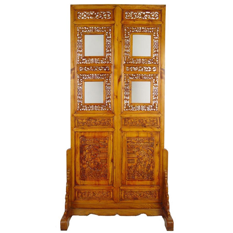 chinese wooden room dividers photo - 6