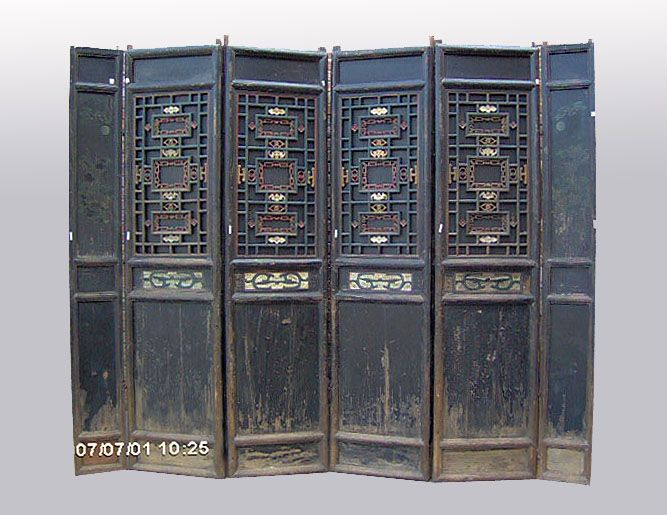 chinese wooden room dividers photo - 7