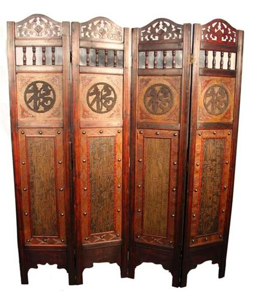 chinese wooden room dividers photo - 8