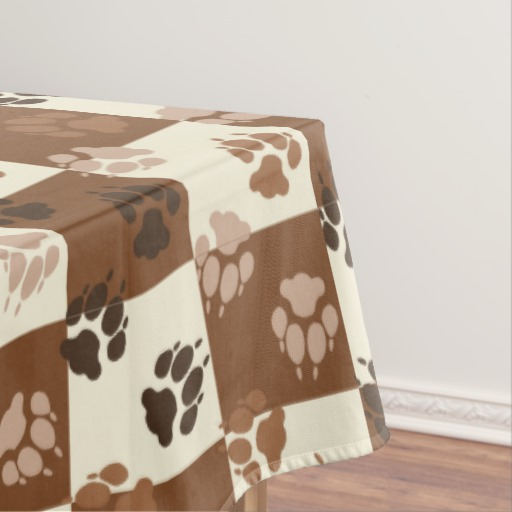 coffee design tablecloth photo - 2