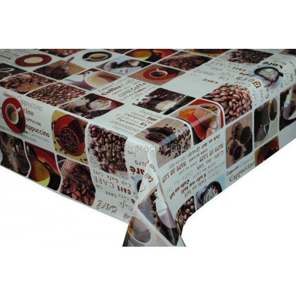 coffee design tablecloth photo - 4