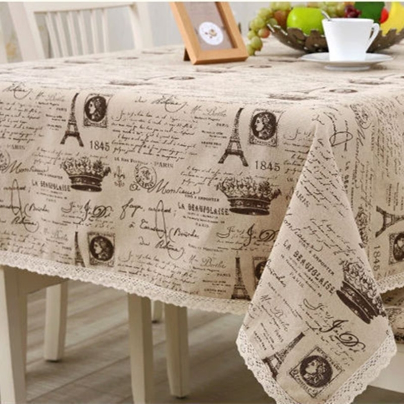 coffee design tablecloth photo - 6