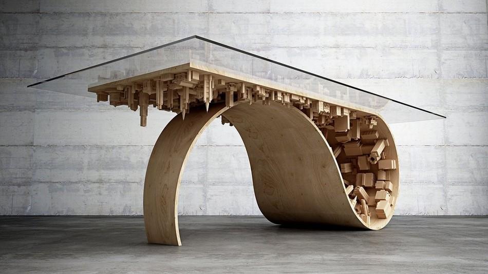 coffee table cool design photo - 4