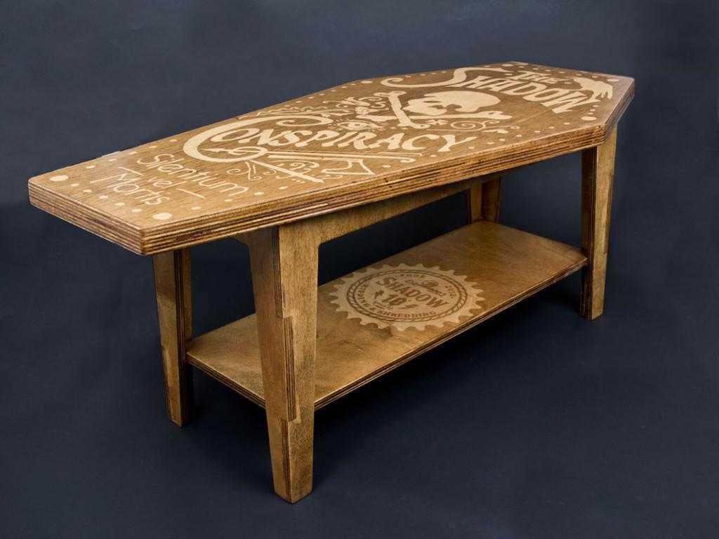 coffee table cool design photo - 7