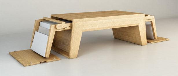 coffee table design concept photo - 4