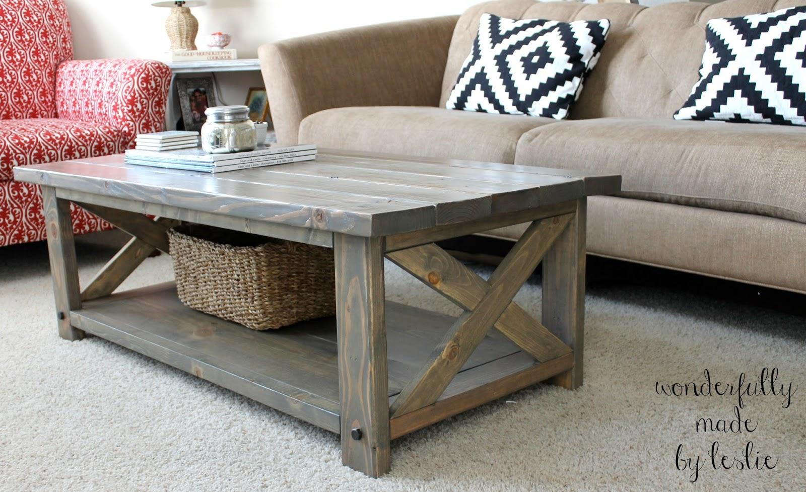 coffee table designs diy photo - 3