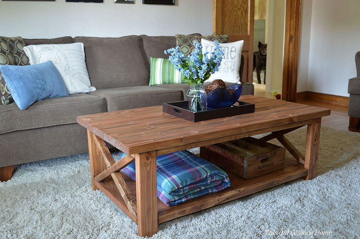 coffee table designs diy photo - 9