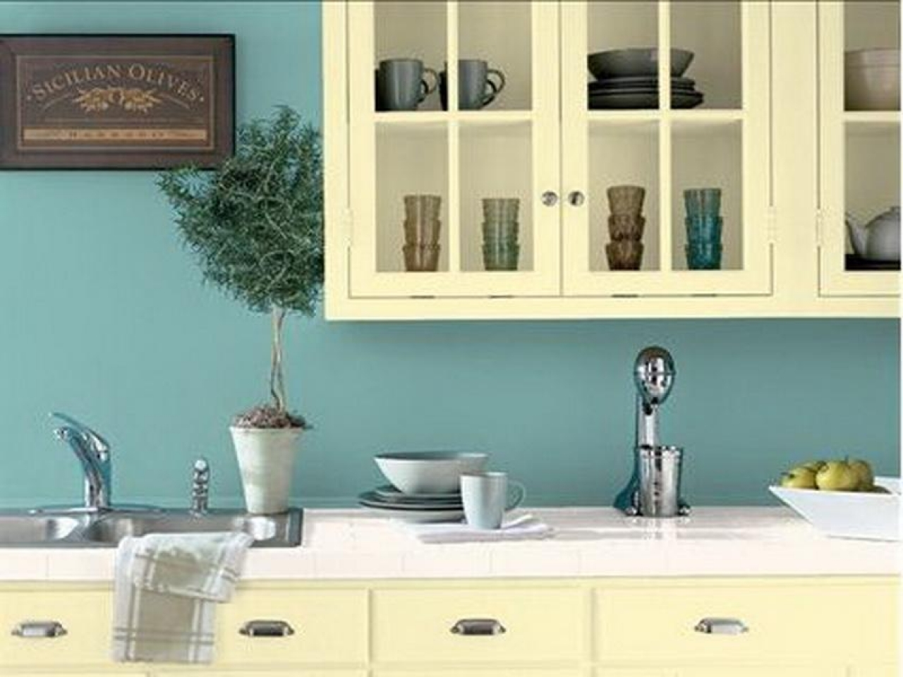 color shade for kitchen photo - 2