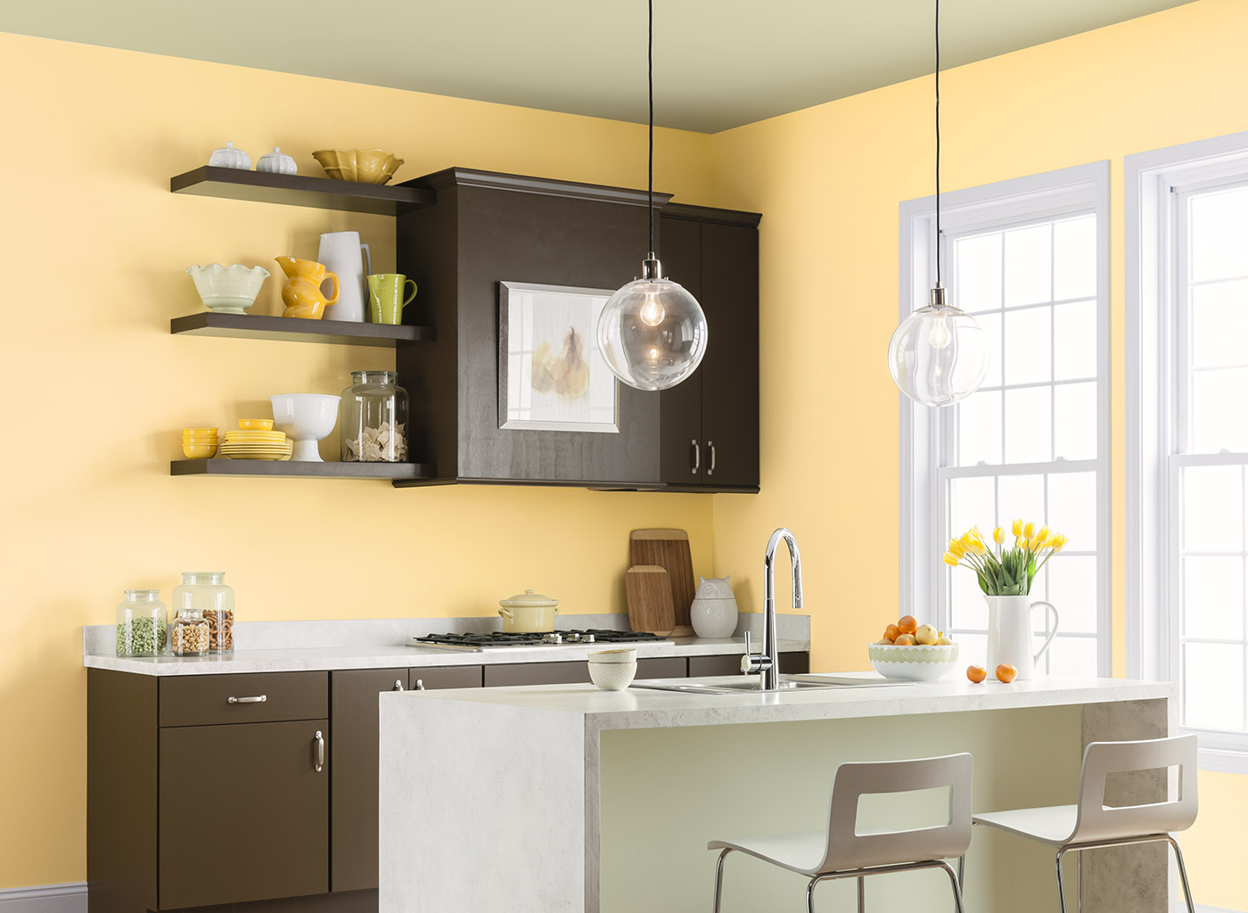 colour shade for kitchen photo - 10
