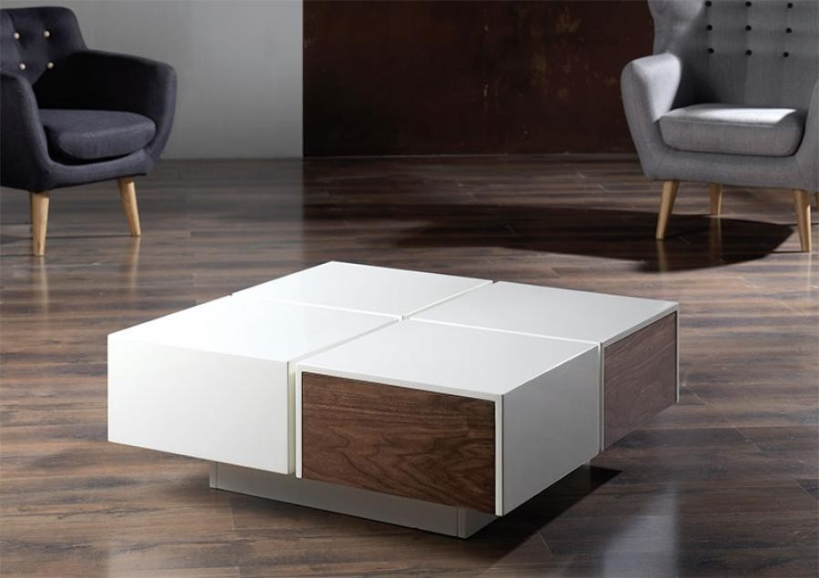 contemporary coffee tables with storage photo - 1