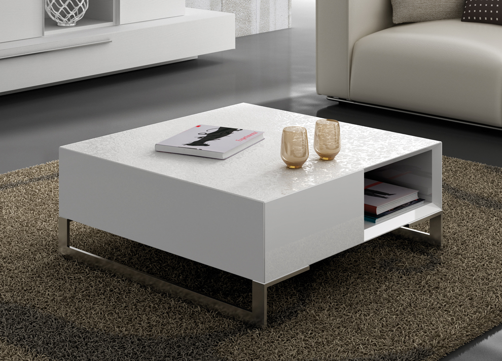 contemporary coffee tables with storage photo - 10