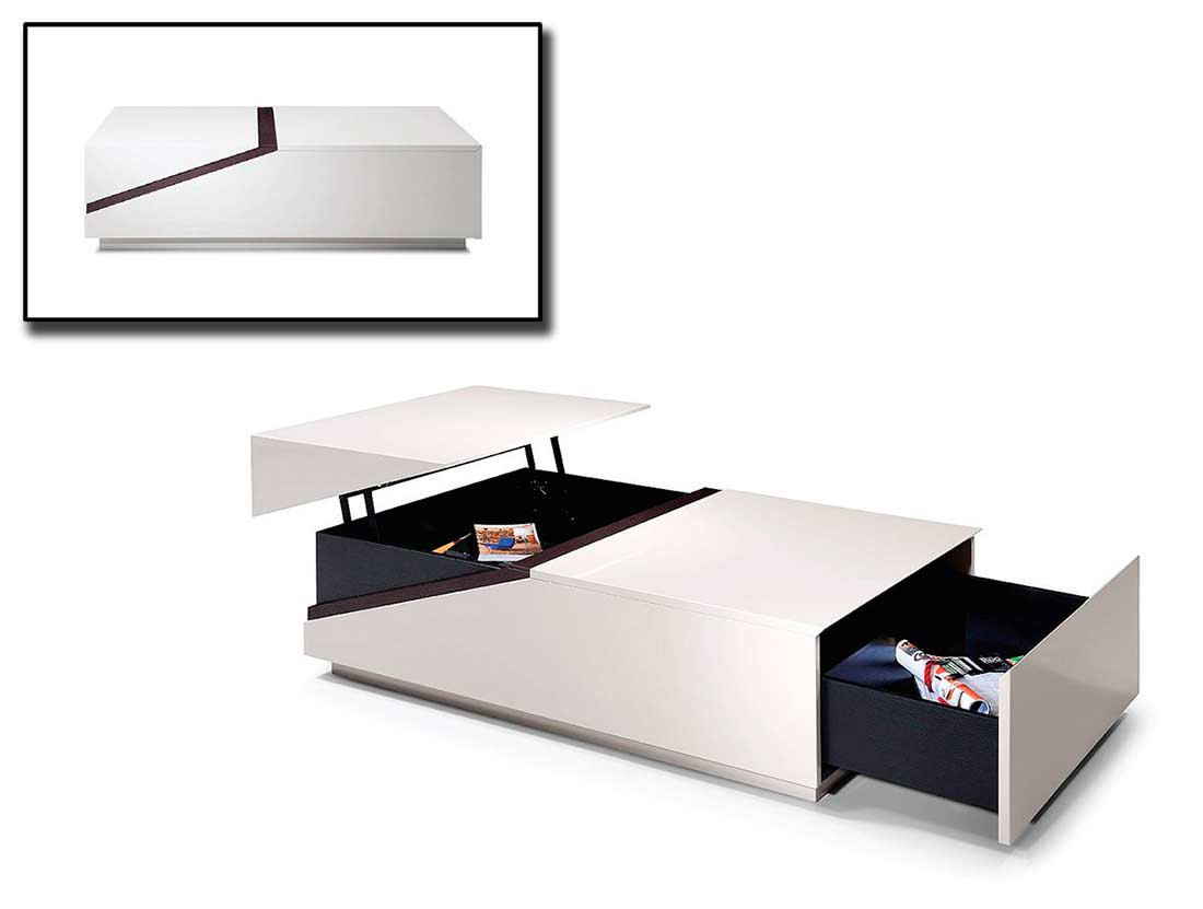 contemporary coffee tables with storage photo - 4