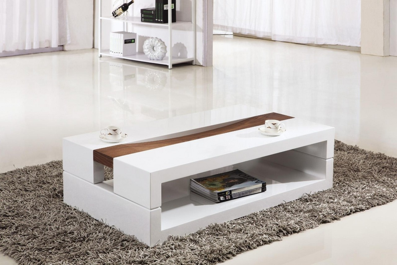 contemporary coffee tables with storage photo - 5