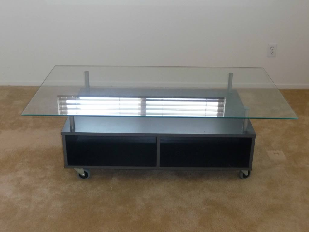 contemporary coffee tables with storage photo - 6