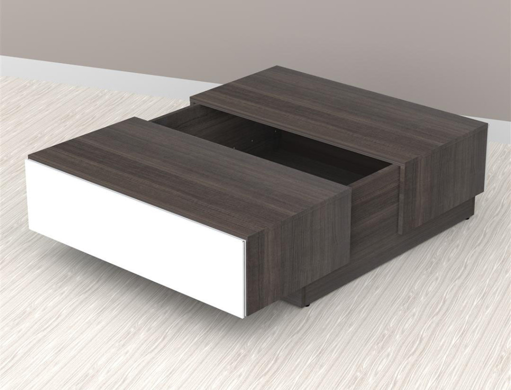 contemporary coffee tables with storage photo - 9