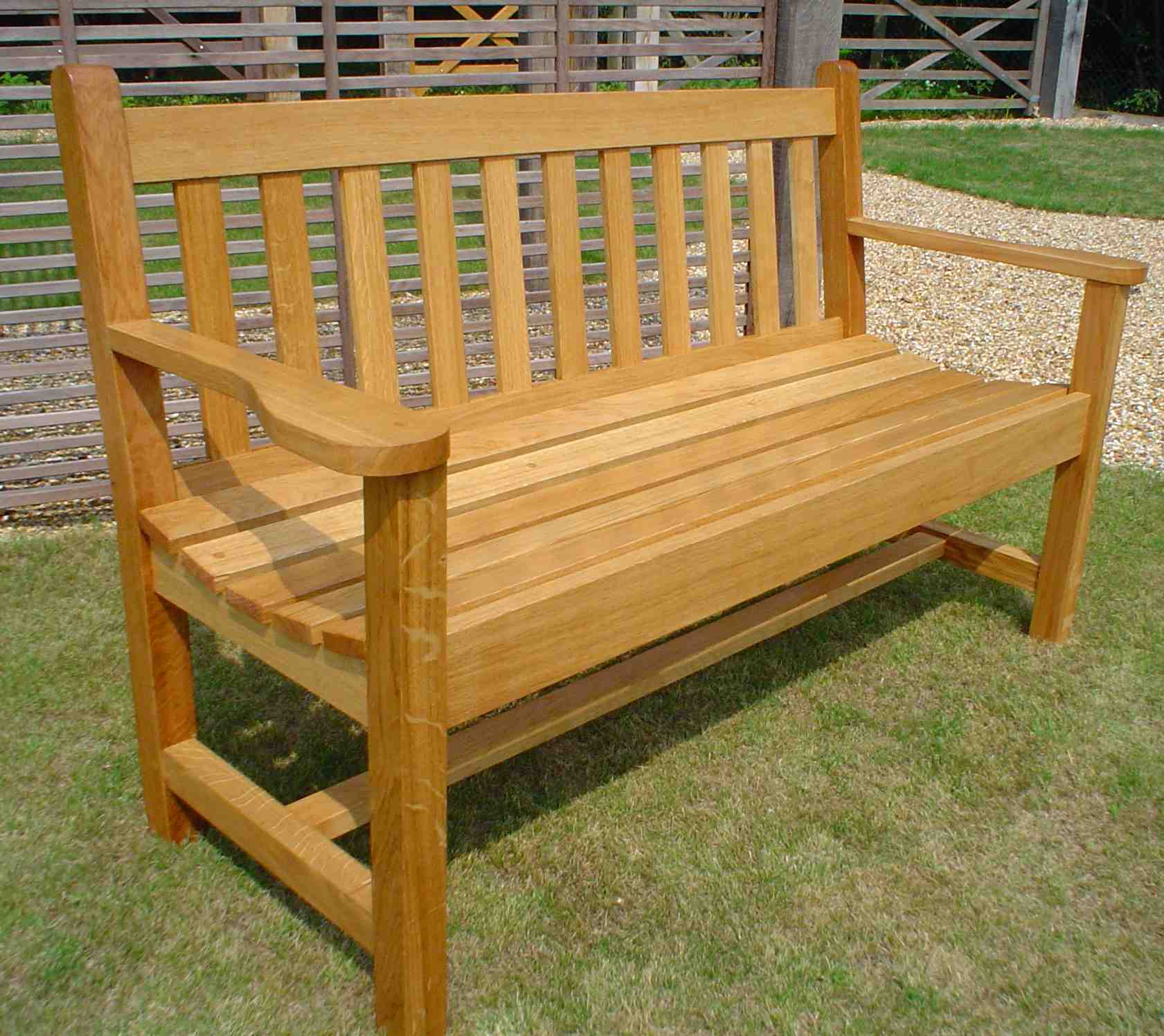 contemporary garden bench plans photo - 7