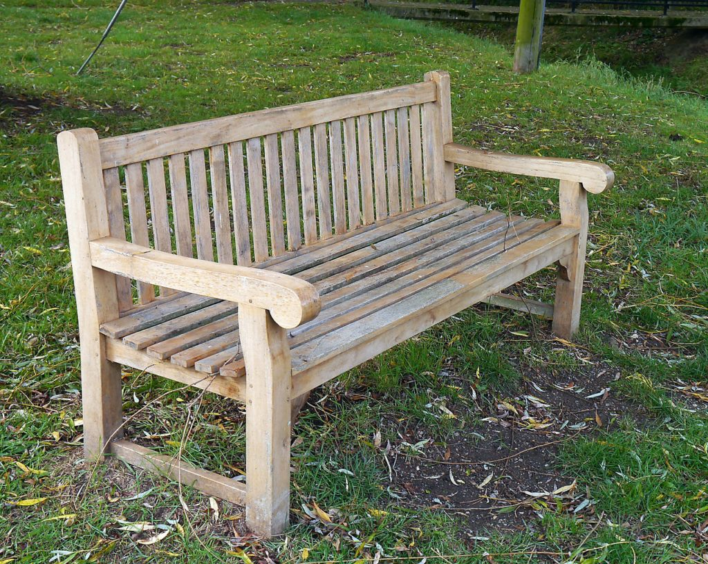 contemporary garden bench plans photo - 8