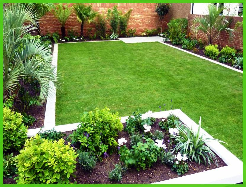 contemporary garden border ideas photo - 1