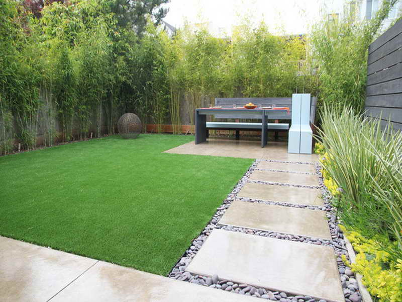 contemporary garden border ideas photo - 2