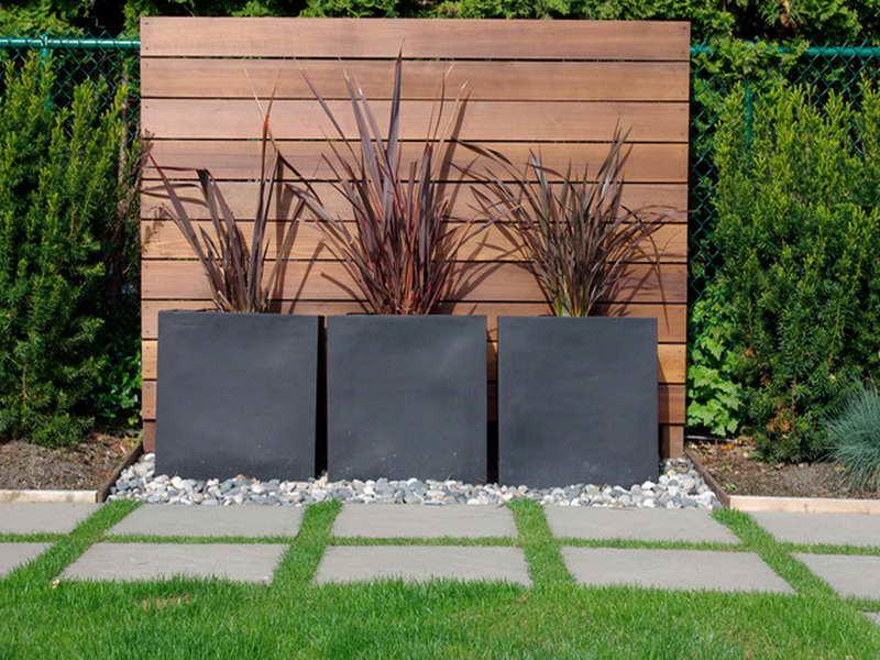 contemporary garden border ideas photo - 3
