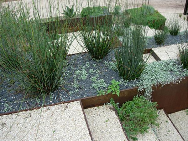 contemporary garden border ideas photo - 5