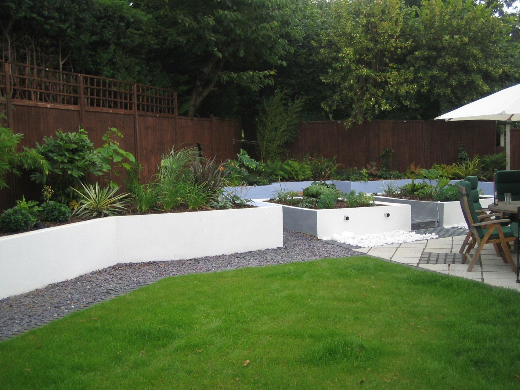 contemporary garden border ideas photo - 6