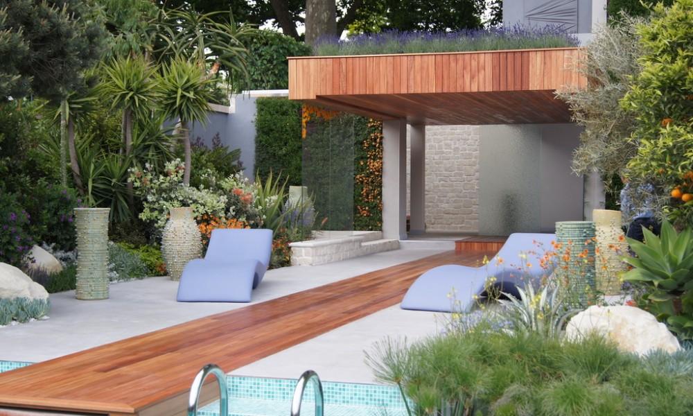 Contemporary garden design ideas photos | Hawk Haven