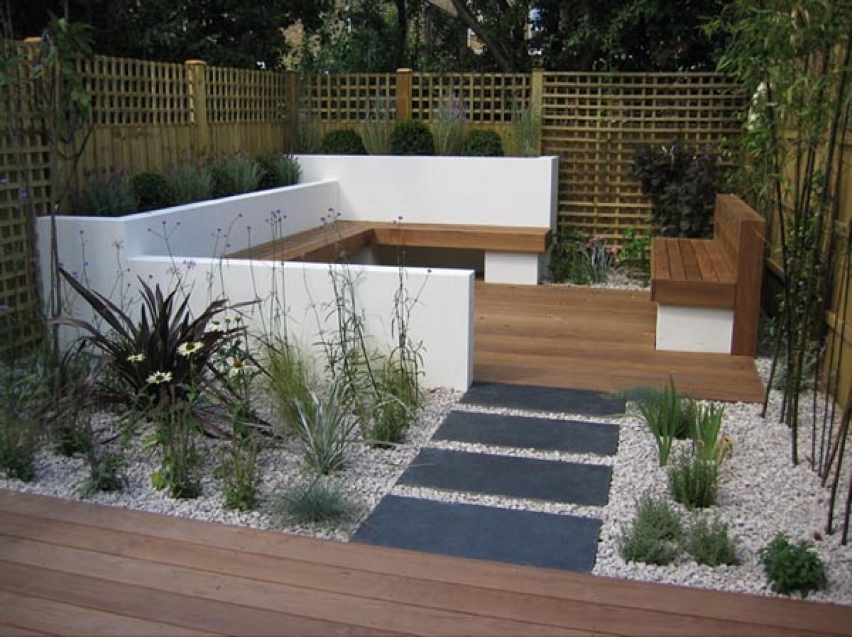 contemporary garden design ideas photos photo - 7