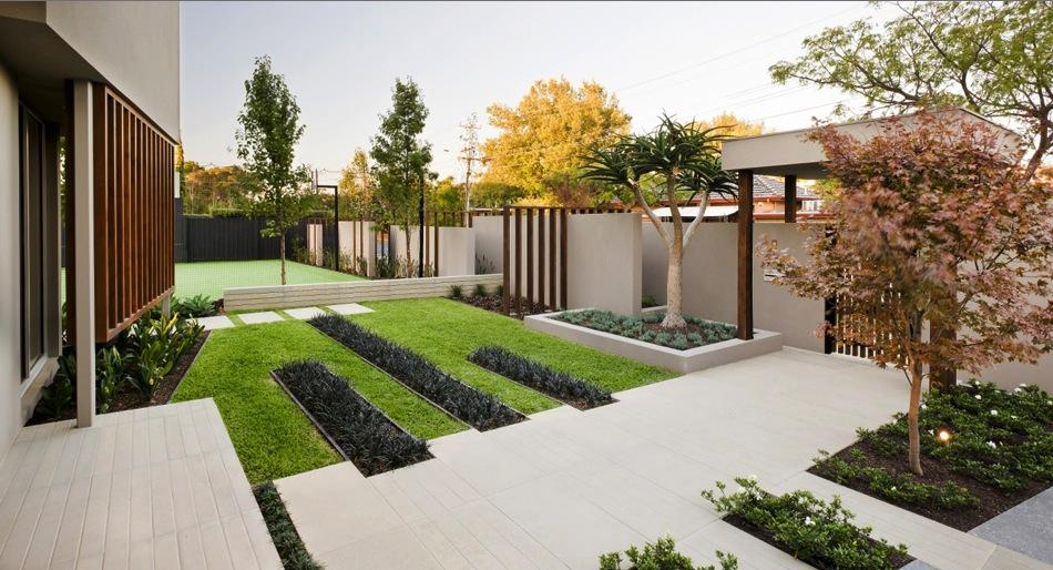 contemporary garden design ideas photos photo - 8