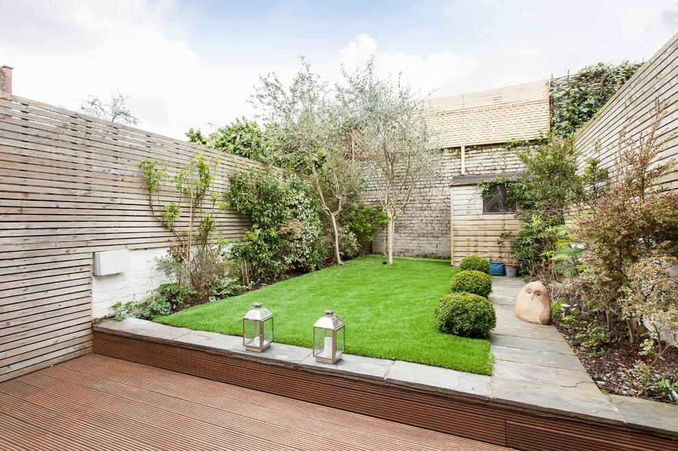 contemporary garden fencing ideas photo - 4