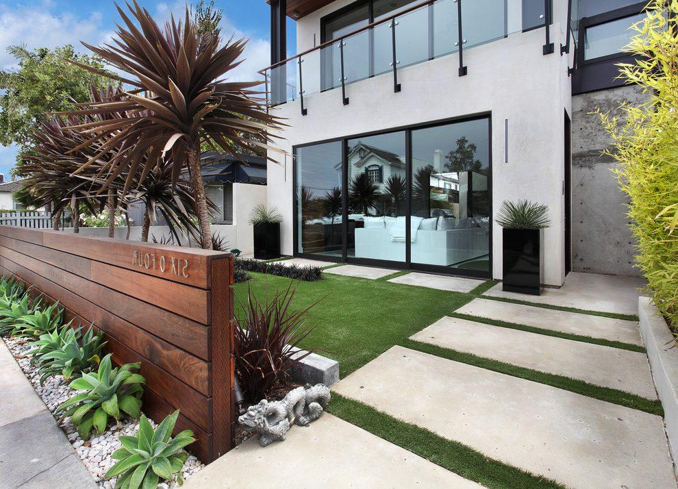 contemporary garden fencing ideas photo - 5