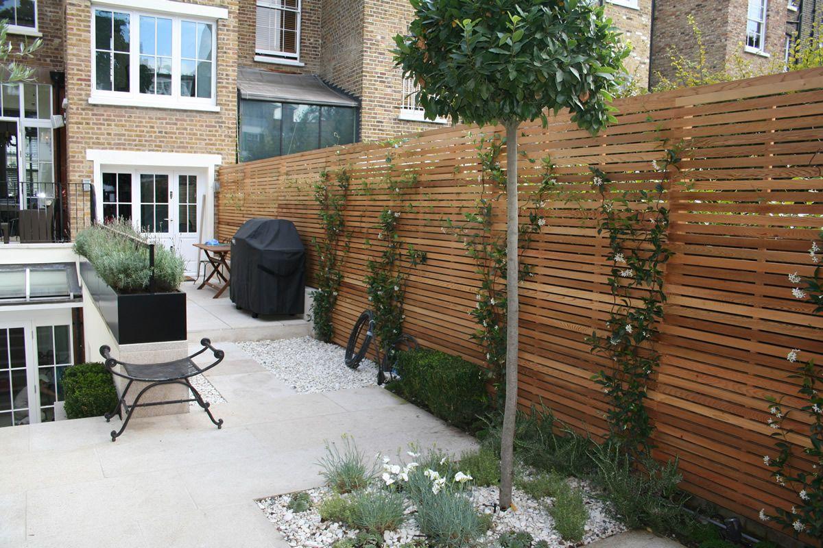 contemporary garden fencing ideas photo - 7