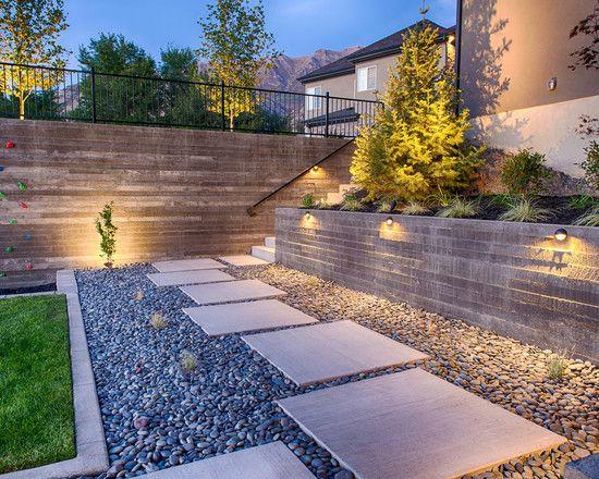 contemporary garden path ideas photo - 1