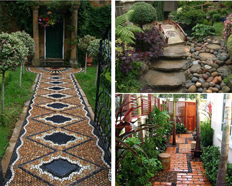 contemporary garden path ideas photo - 2