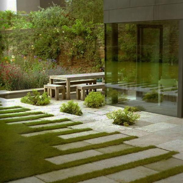 contemporary garden path ideas photo - 4