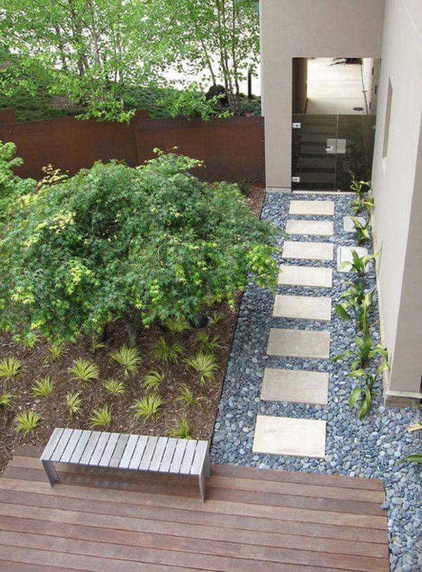 contemporary garden path ideas photo - 6