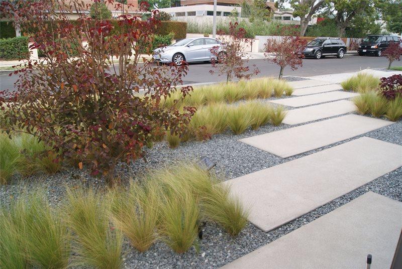contemporary garden path ideas photo - 7