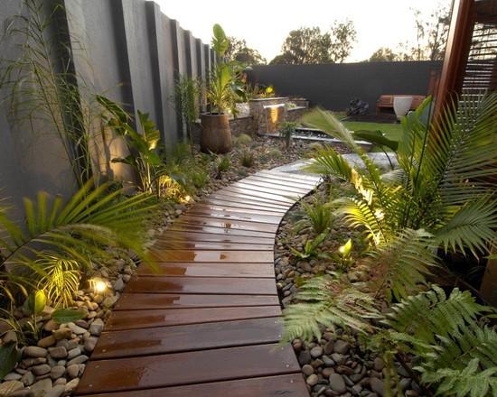 contemporary garden path ideas photo - 8