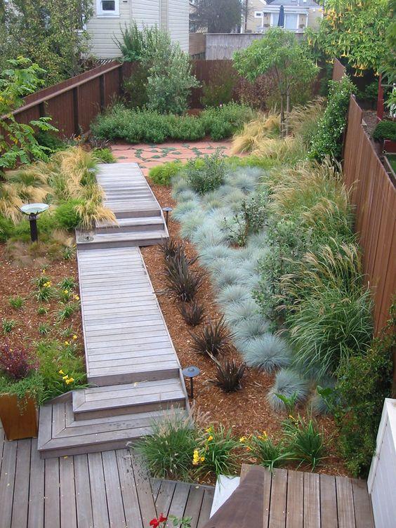 contemporary garden path ideas photo - 9