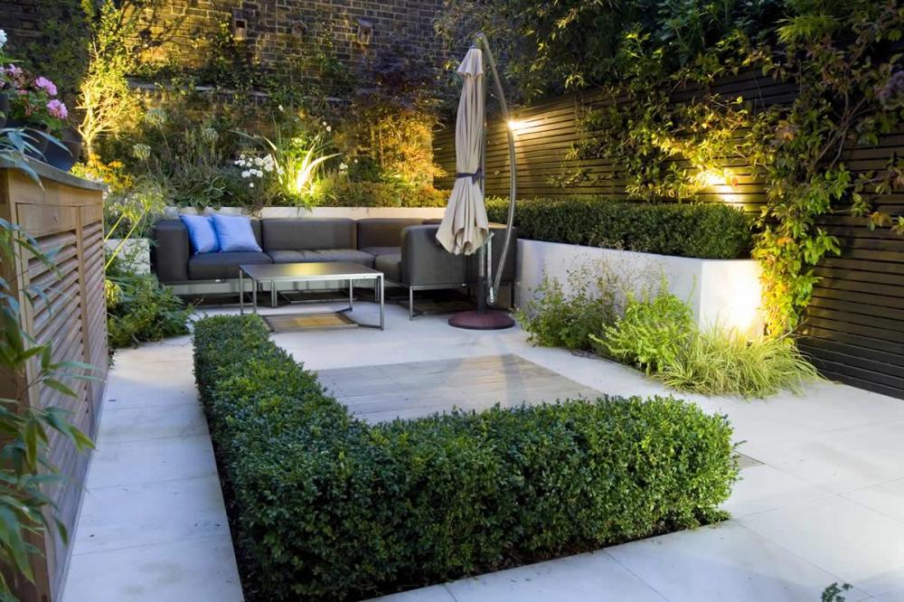Contemporary Garden Patio Ideas Photo   3