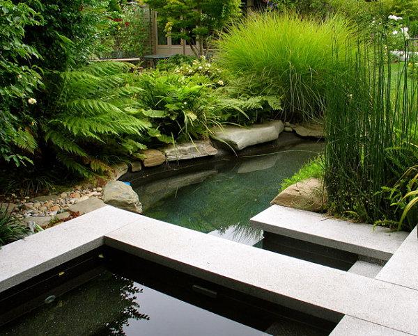 contemporary garden pond ideas photo - 10