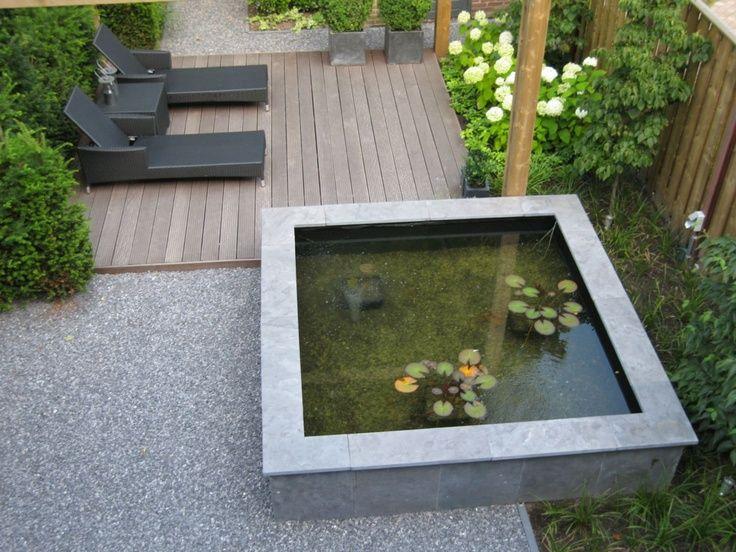 contemporary garden pond ideas photo - 2