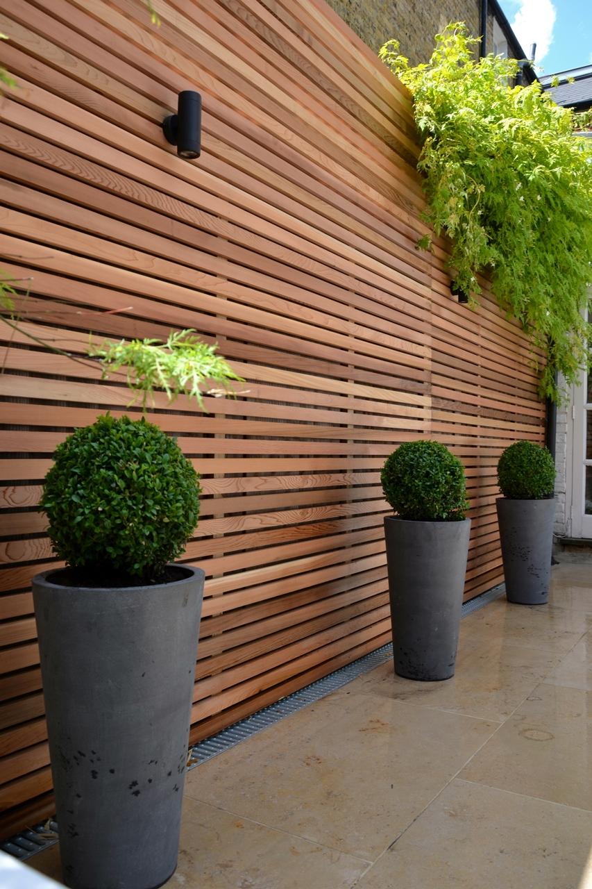 contemporary garden screening ideas photo - 1