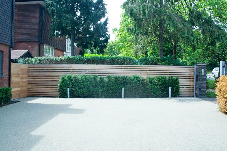contemporary garden screening ideas photo - 2