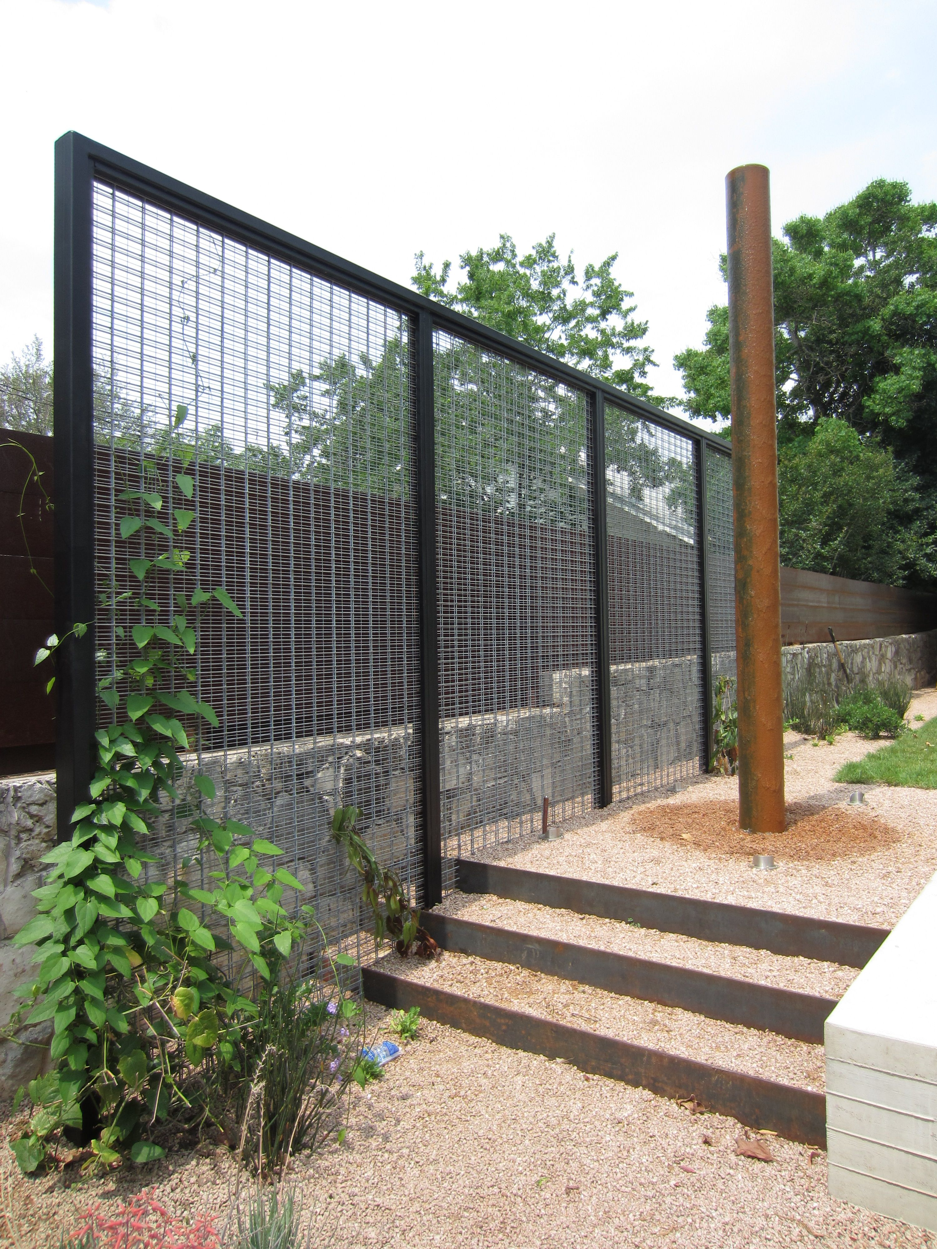 contemporary garden screening ideas photo - 6