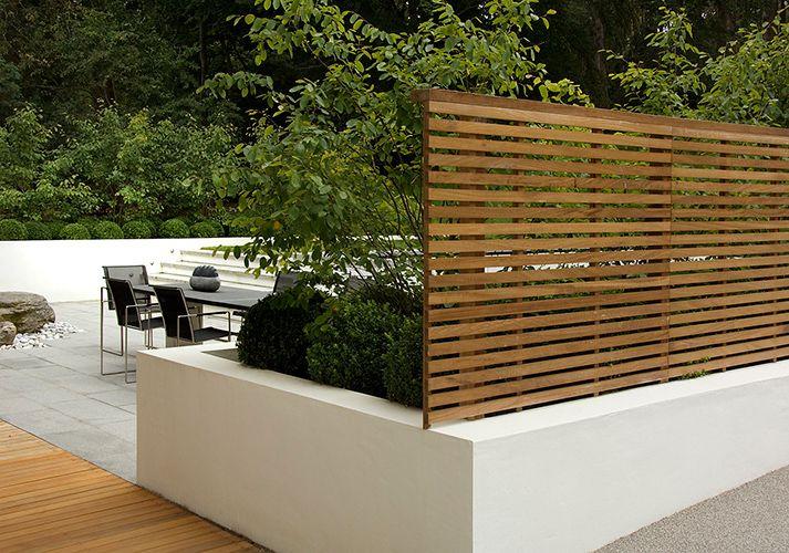 contemporary garden screening ideas photo - 7