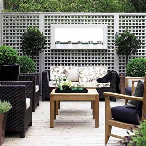 contemporary garden screening ideas photo - 8