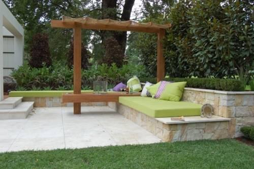 contemporary garden seating ideas photo - 1