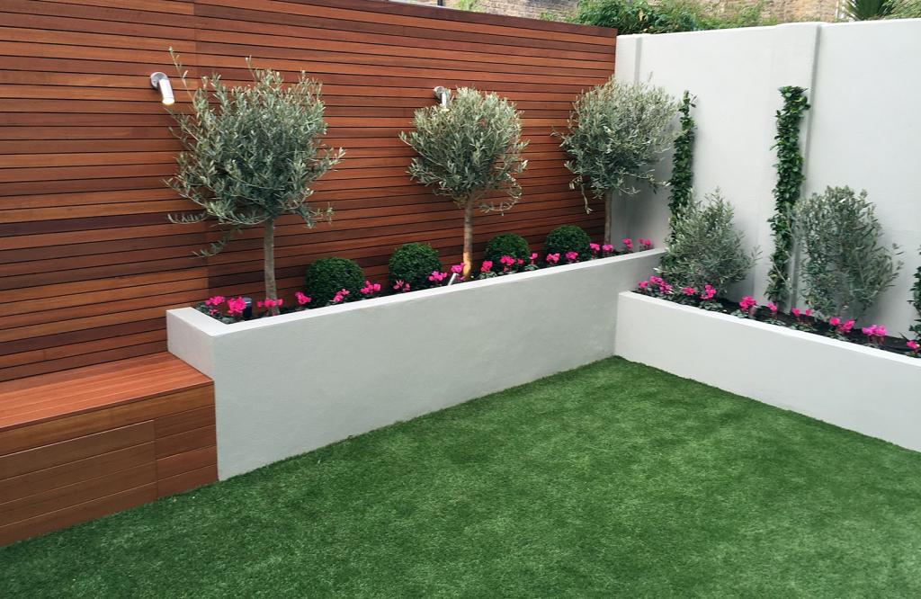 contemporary garden seating ideas photo - 10