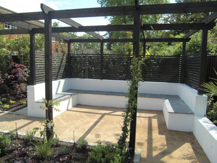 contemporary garden seating ideas photo - 2